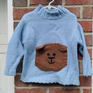 GAP Chunky Teddy Bear Sweater